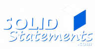 Solid Statements Logo